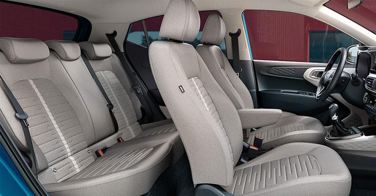 Nuovi interni Hyundai i10