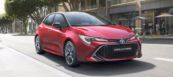 Nuova Corolla Hybrid