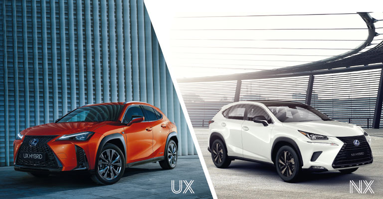 Gamma Lexus Ux e Nx km0