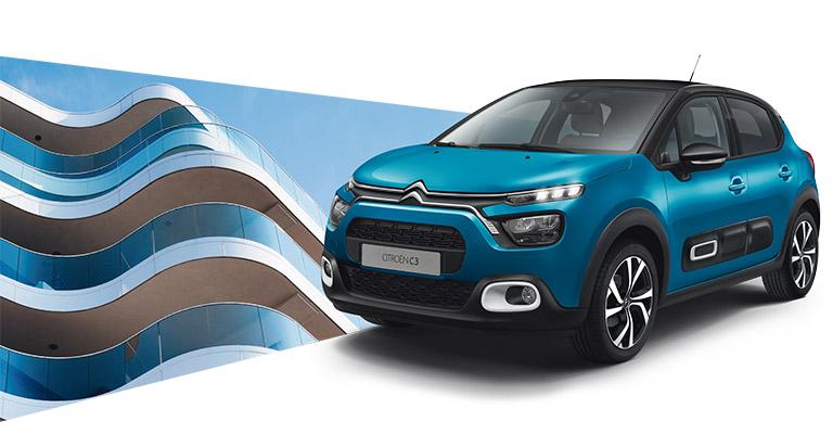 Nuova Citroën C3 tua da <strong>10.450€*</strong> anziché 16.050€, solo da Spazio8! Solo ad Ottobre!