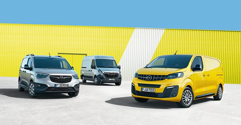 Veicoli Commerciali Opel da <strong>139€ al mese</strong> + IVA, ad Ottobre da Spazio!